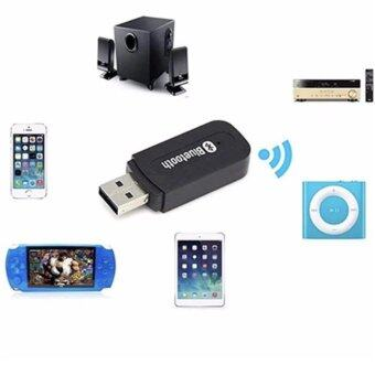 Harga TIB บลูทูธมิวสิค USB Bluetooth Audio Music Wireless ReceiverAdapter 3.5mm Stereo Audio