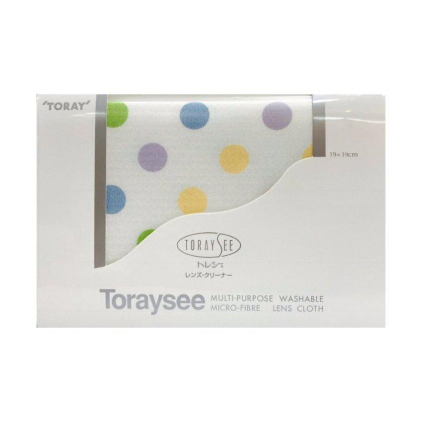 Toraysee Ultra-fine Microfiber Cleaning Cloth ผ้าไมโครไฟเบอร์แท้ 100% เช็ดเลนส์กล้อง แว่นตา นาฬิกา หน้าจอคอมพิวเตอร์ นำเข้าจากญี่ปุ่น TA8 Marble