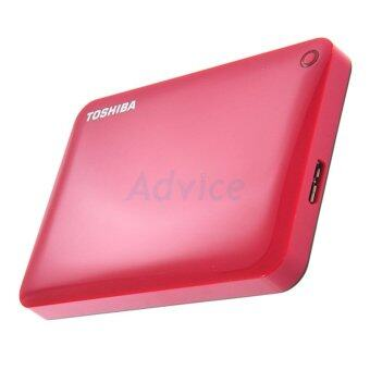 อยากขาย Toshiba Hard Disk External 2.5 Canvio Connect II (1 TB.) Red ของแท้