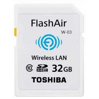 Toshiba Wireless SD Memory Card - Flash Air W-03 32GB