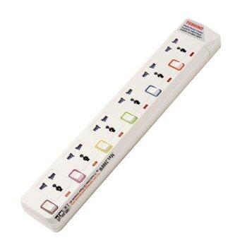 ประกาศขาย Toshino POWER BAR E-916 4.5M 6ช่อง (White)