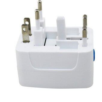 Harga Toshino Universal Travel Adapter รุ่น DE-204 (White)