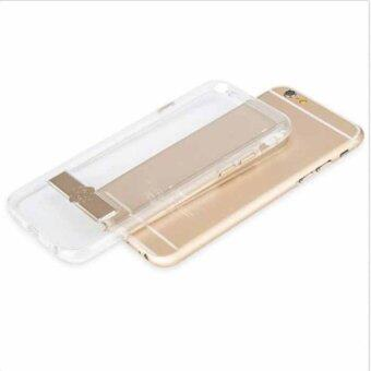 TOTU Naked Shield Clear TPU+Metal Kickstand Case Cover For iPhone 6iphone6s (8043)