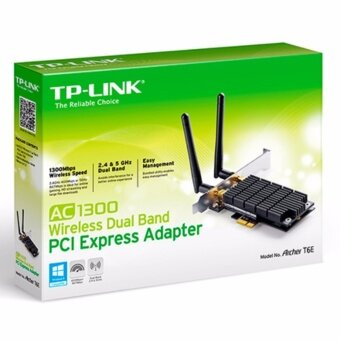 Harga TP-Link AC1300 Wireless Dual Band PCI Express Adapter Archer T6E