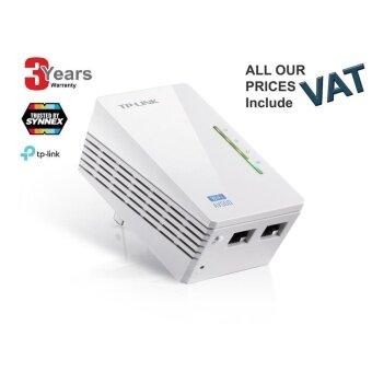 TP-LINK TL-WPA4220 300Mbps AV500 WiFi Powerline Extender - สีขาว - 3 YEARS (SeviceCenter By Synnex)