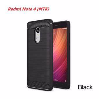 เคส TPU Bumper สำหรับ Xiaomi Redmi Note 4 (MTK) / Redmi Note 4X (MTK) (Black)