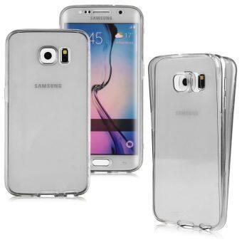 ผอมหน้าใสเนียน TPU เคสยางครอบย้อนกลับสำหรับ Samsung Galaxy S7 edge(สีดำ) (ต่างประเทศ)