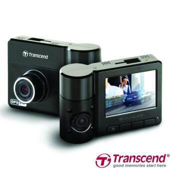 Transcend DrivePro 520 Dual Lens กล้องติดรถยนต์ 2กล้อง หน้า-หลังมีWiFi+GPS Free 32GB microSDHC มูลค่า 690.-