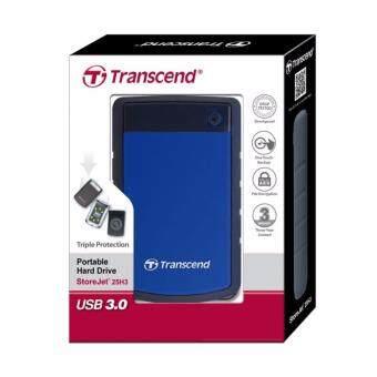 ต้องการขายด่วน Transcend External Hard Drives StoreJet 25H3 (USB 3.0) 1TB - Blue