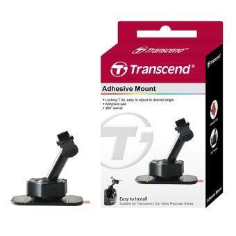 Transcens ขายึดกล้องติดรถยนต์หัวสไลส์แบบกาวยึด 3M Adhesive Mount (สีดำ)