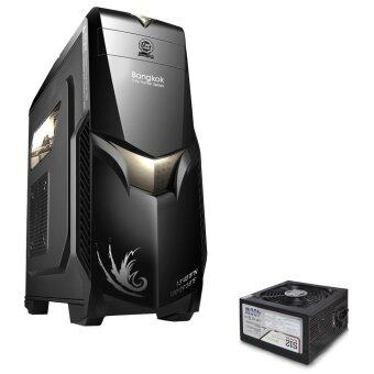 ซื้อ/ขาย Tsunami City Hunter Bangkok Series USB 3.0 Gaming Case BLACK GREY+ Seed S12-400W Power Supply ATX