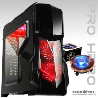 ซื้อ/ขาย Tsunami Computer Case (NP) Pro Hero (Black-Red)