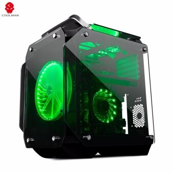 Tsunami Coolman Gorilla Super ATX ( Best aero-cooling solution) Gaming Case KGN
