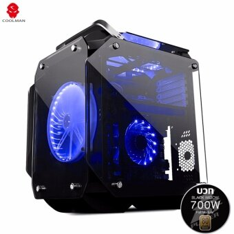ซื้อ/ขาย Tsunami Gaming King Gorilla Combo ( CoolMan Gorilla KB + 1st Player Black Widow 700W 80Plus Bronze Full Modular Power Supply)