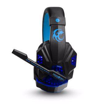 Tsunami Professional Gaming Combo Monster Series Headphones +Keyboard + Mouse 3in1 Kit (Blue/Blue) (image 1)
