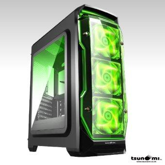 Tsunami X STORM USB 3.0 Gaming Case (with LED 12 CM Fan X 3) KGN