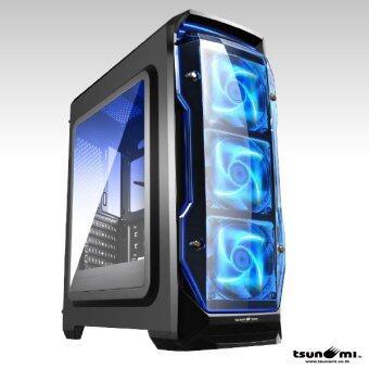 เปรียบเทียบราคา Tsunami X STORM USB 3.0 Gaming Case (with LED 12 CM Fan X 3) KB