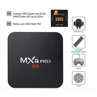 TV Box MXQ Pro 4K Amlogic S905 ( ฺBlack )