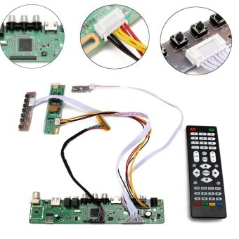TV Universal LCD LED Screen Controller Board DIY Monitor Kit withRemote Control - intl