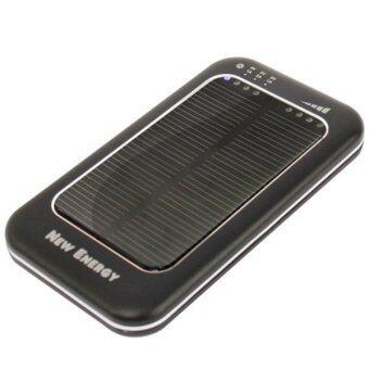 Ucall Power Bank ชาร์ตพลังงานแสงอาทิตย์ 5000mAh (สีดำ)