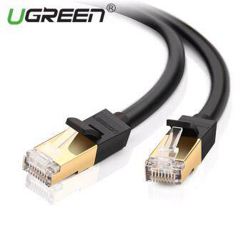ต้องการขาย UGREEN 15แผ่นความเร็วสูงแมว 7 RJ45 เครือข่ายเคเบิลอีเทอร์เน็ตแลน(สีดำ)
