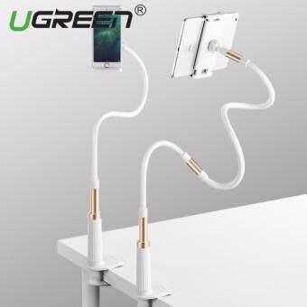 UGREEN Gooseneck คลิปโทรศัพท์มือถือคลิปหนีบผมยาวสำหรับ iPhone X iPhone 8 7 Plus iPhone 6S 6 Plus แท็บเล็ตขนาดเล็กสำหรับห้องนอน ห้องครัวและออฟฟิศ (โกลด์)