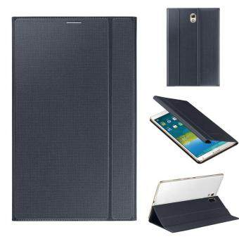 Ultra Slim Leather Cover Case For Samsung Galaxy Tab S 8.4Inch T700Black - intl