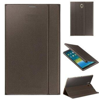 Ultra Slim Leather Cover Case For Samsung Galaxy Tab S 8.4Inch T700Golden - intl