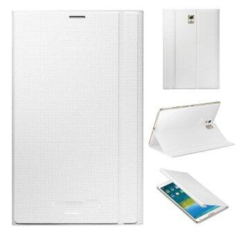 Ultra Slim Leather Cover Case For Samsung Galaxy Tab S 8.4Inch T700White - intl