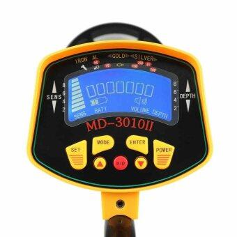Underground Coins Gold Metal Detector Digger Treasure HunterTracker LCD - intl