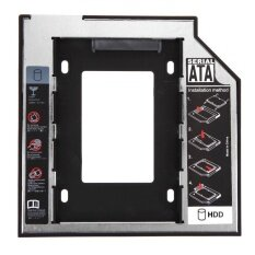 Universal 2.5 2nd 9.5mm Ssd Hd SATA Hard Disk Drive HDD Caddy Adapter Bay F - intl