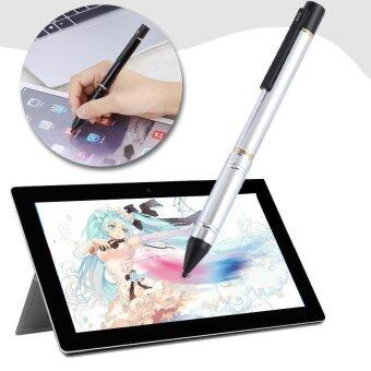 Universal Capacitive Stylus Pen 2.3mm High Precision Silicone TipSilver - intl