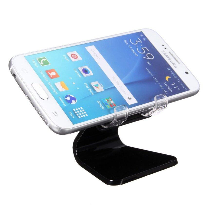 Universal Car Desk Phone Mount Cradle holder Stand for iPhone 6 Plus Samsung S6 Black