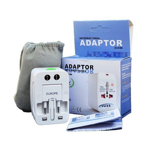 Universal Plug Travel Adapter หัวปลั๊ก เอนกประสงค์ (White)