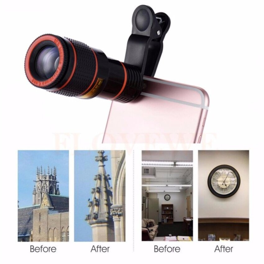 Universal Special Design 8X Zoom Phone Lens Telephoto Camera Lens For iPhone Samsung HTC Xiaomi