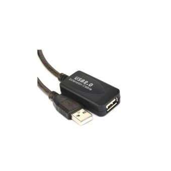 USB 2.0 Active Extension cable สายต่อยาว10m ขยายสัญญาณในตัว - 2