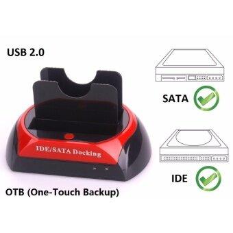 USB 2.0 Dual HDD Hard Drive Disk Docking Station - intl