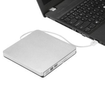 USB 3.0 แบบพกพาขนาดบางเฉียบนอก CD-RW