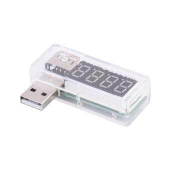 ตัววัดแรงดันและกระแสไฟฟ้า USB Charger doctor\nขณะชาร์จไฟเข้าอุปกรณ์แก็ดเจ็ต มือถือ