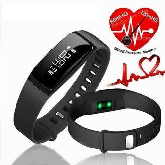 Harga V07 smart watch band blood pressure Heart Rate Monitor WirelessFitness Bracelet For Android And IOS - intl