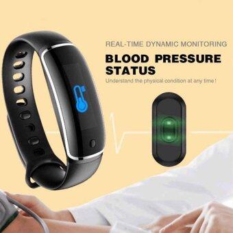 Harga V8 Wristband Heart Rate Monitor Smart Watch Blood Pressure MonitorBluetooth Sports Reminder Smart Bracelet For IOS And Android - intl
