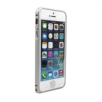 Harga Vanker Metal Thin Edge Case for iPhone 5/5S (Silver)