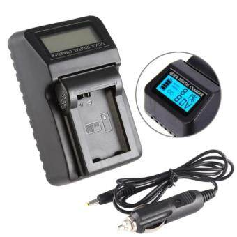 VF815 LCD Digital LCD Camera Charger For VF815 แท่นชาร์จแบตกล้องมีจอ LCD แสดงสถานะแบต JVC VF808 VF815U VF823 U815 808 823 - intl