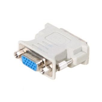 ตัวแปลงสาย VGA (F) เป็น DVI 24+1 (M) - Converter VGA (F) TO DVI24+1 (M)