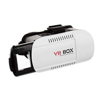 VR Boxของแท้ แว่น3มิติดูหนัง3D 3 มิติ เล่นเกมเสมือนจริง(สีขาว/ดำ)