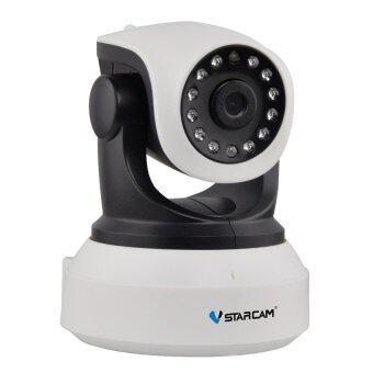 Vstarcam กล้องวงจรปิด IP Camera 1.0 Mp and IR Cut รุ่น C7824 WIP HD ONVIF (สีขาว/ดำ)