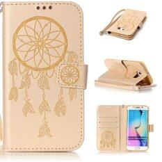 Wallet Credit Card ID Holder Pattern Design PU Leather Flip Cover with Kickstand