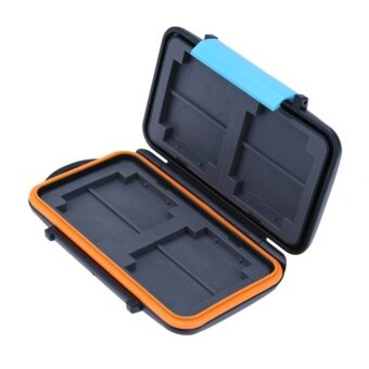 Waterproof Anti-shock Memory Card Storage Case Holder Box for SD CF TF Card - intl