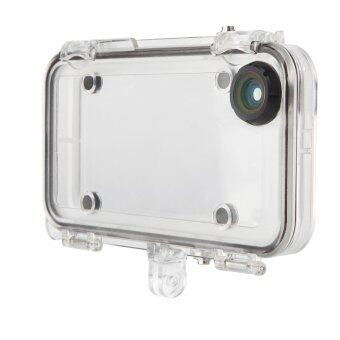 Waterproof Inch with 170 Degree Wide Angle Camera Lens Phone Case\nfor iPhone 6 / 6S 4.7 (Clear) - intl