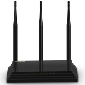 Wavlink AC1200 Smart Gigabit Router, Dual Band(2.4GHz300Mbps+5GHz867Mbps)with 2 USB2.0 Ports for Sharing andStorage/3External Antennas/WPS Button - intl